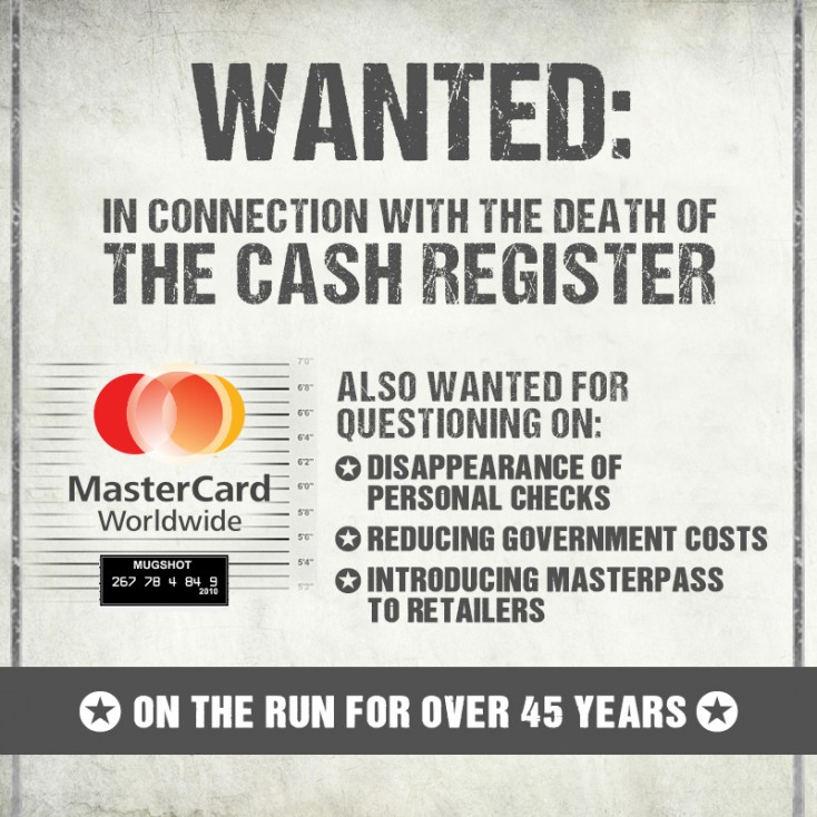 Flickr Photo: MasterCard Wanted Poster