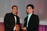 Flickr Photo: Raghu Malhotra, division president, Middle East & Africa presents awards to Smashing! Cleaning Services