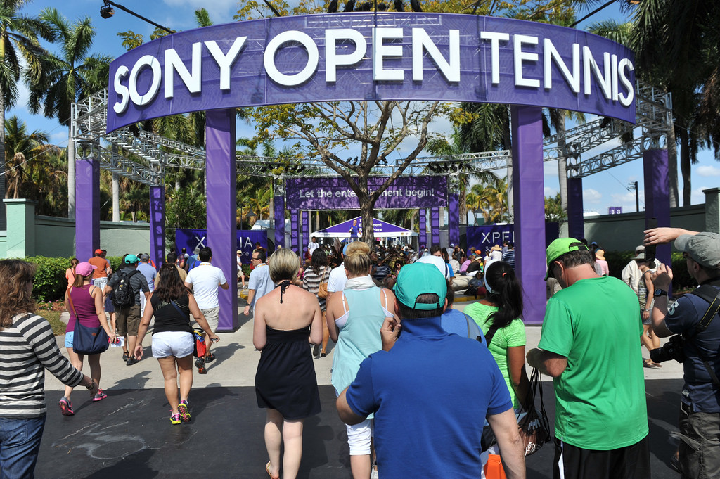 Flickr Photo: Sony Open Tennis