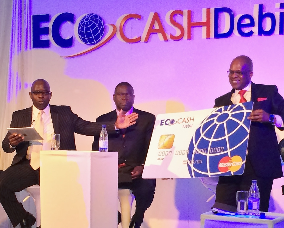 Flickr Photo: MasterCard and Zimbabwe's EcoCash announce Africa's first physical mobile money companion debit card