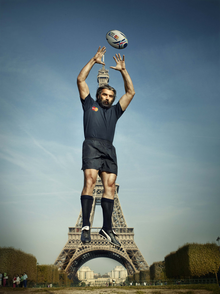 Chabal catches Rugby World Cup 2015 Fever