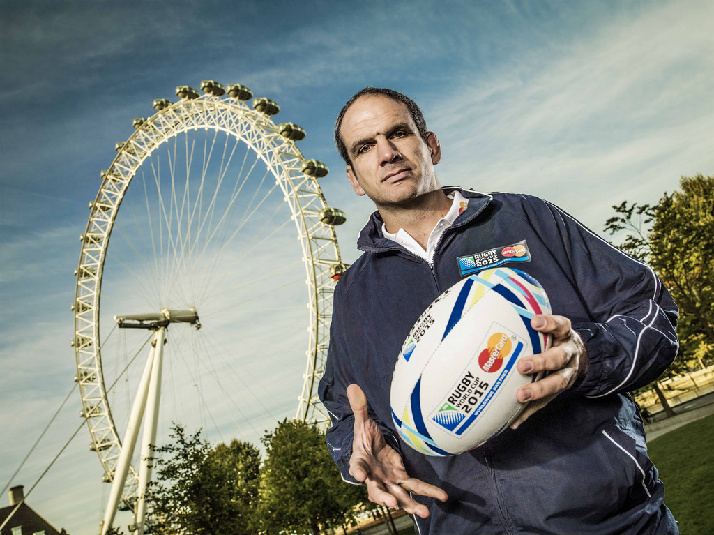 Martin Johnson proves Priceless as he joins MasterCard's Rugby World Cup 2015 team of ambassadors