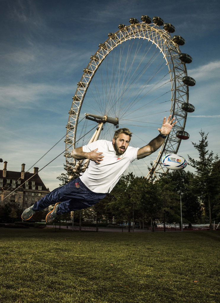 Chris Robshaw proves Priceless as he joins MasterCard's Rugby World Cup 2015 team of ambassadors
