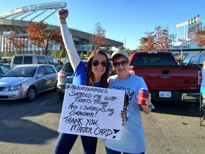 Flickr Photo: Major League Baseball Fans Get Surprises with Apple Pay at 2014 World Series