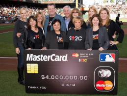 Flickr Photo: Stand Up To Cancer at 2014 World Series