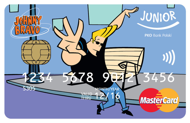 E Card Cartoon Characters : Poland s first payment cards with cartoon network
