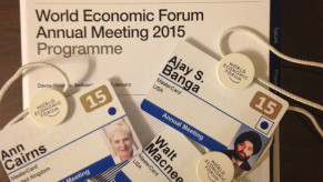 Flickr Photo: MasterCard Checked in for World Economic Forum 2015