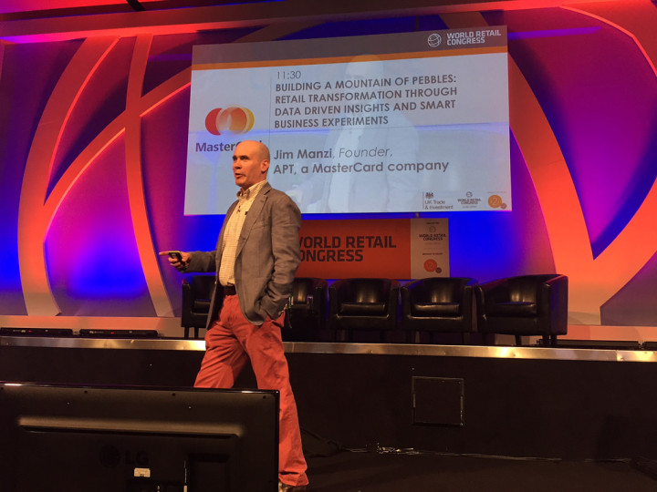Flickr Photo: Jim Manzi at World Retail Congress 2015