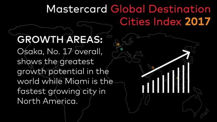 Flickr Photo: Mastercard Global Destination Cities Index: Growth Areas