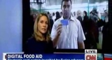 YouTube Video: CNN interview with MasterCard on Digital Food Aid for Syrian Refugees