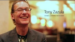 YouTube Video: Cashless Pioneer: Tony Zazula Of Commerce NYC On The Cashless Restaurant
