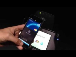 YouTube Video: VIDEO DEMO: Apple Pay at work with MasterCard transaction